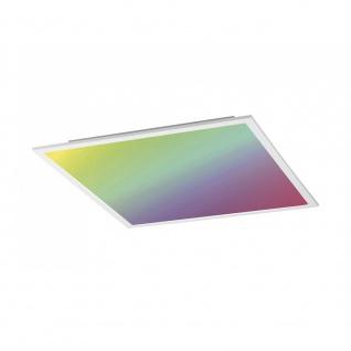 Licht-Trend Q-Flat 30 x 30cm LED Deckenleuchte RGBW + Fb. Weiß Deckenlampe