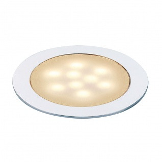 SLV LED SLIM Light Einbauleuchte alu eloxiert 0, 5W Warmweiß 550672