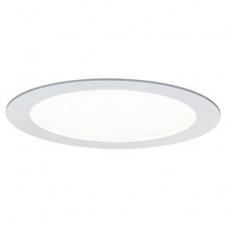 Paulmann Einbaupanel LED rund 14W Weiß Warmweiß mit Dimmfunktion 92034