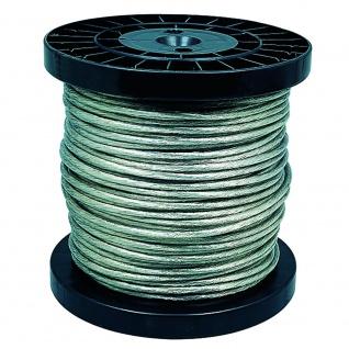 Paulmann Wire System Light&Easy Sicherheits-Spannseil isoliert 100m 4qmm Klar 979057