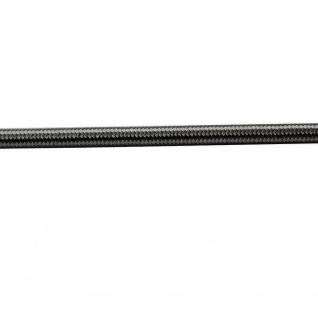 Textilkabel schwarz / 2 x 0, 75mm / 1 Meter