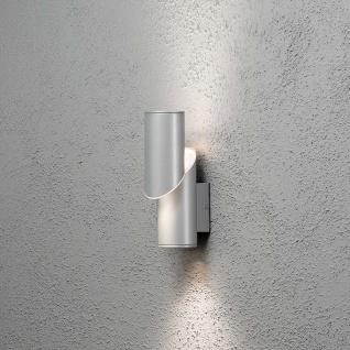 Konstsmide 7935-310 Imola LED Aussen-Wandleuchte Style Design Grau opales Acrylglas