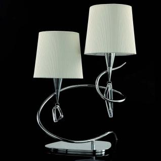 Mantra Doppel-Tischlampe Mara