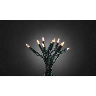 LED Minilichterkette One String 50 Warmweiße Dioden für Innen