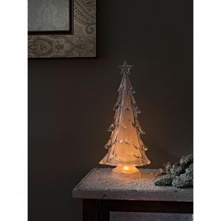 LED Acryl Weihnachtsbaum 3 Warmweiße Diode batteriebetrieben für Innen