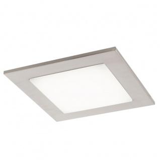 Eglo 94555 Ciolini LED Wand & Deckenleuchte 97 W Stahl Nickel-Matt Kunststoff Weiß