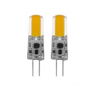 Eglo 11552 G4 LED Stiftsockel 2er-Set Dimmbar 1, 8W 200lm Warmweiß LED Leuchtmittel