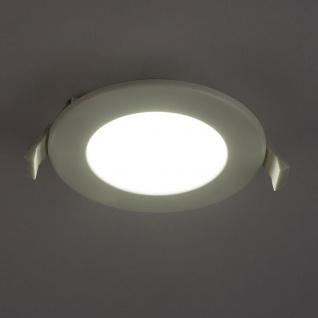 LED Einbauleuchte Unella starr Ausschnitt Ø: 100-110mm Opal, Weiß, Satiniert