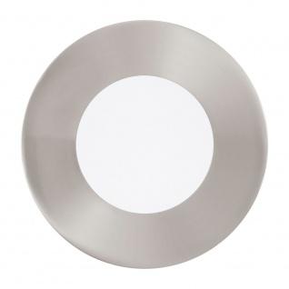 Eglo 94777 Fueva 1 LED Einbaustrahler 3er-Set 1080lm Nickel-Matt