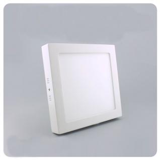 LED Deckenleuchte 22, 5x22, 5cm Warmweiß 1440lm Weiß