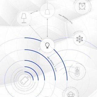 E27 Led-leuchtmittel Connect 9w Rgb+cct Bluetooth Wifi App Ios Android - Vorschau 4