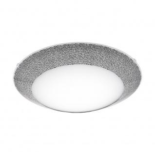 Eglo 95671 Magitta 1 LED Deckenleuchte Ø 39cm 2500lm Weiß Schwarz