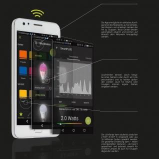 E27 Led-leuchtmittel Connect 9w Rgb+cct Bluetooth Wifi App Ios Android - Vorschau 5