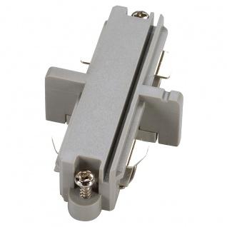 SLV Längsverbinder für 1-Phasen HV-Stromschiene silbergrau elektrisch 143092
