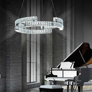 Nova Luce Rocia LED Hängeleuchte ?50cm 48W 3000K Kristall Hängelampe
