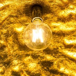 s.LUCE Blister Pendelleuchte 40cm Schwarz Gold Esszimmerleuchte Hängelampe - Vorschau 5