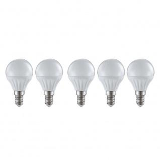 E14 5er-Set LED Leuchtmittel 4W 400lm 3000K
