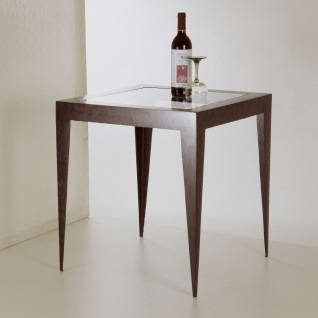 Holländer 300 K 2566 Tisch Gamba Eisen Schwarz-Braun