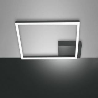 Fabas Luce LED Deckenlampe Bard 3510lm Anthrazit