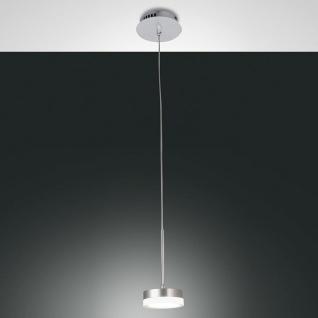 Fabas Luce 3239-40-212 Dunk LED Pendelleuchte 700lm Alu-Gebürstet
