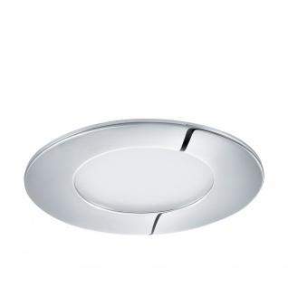 Eglo 96053 Fueva 1 LED Einbauspot Ø 8, 5cm 300lm Chrom