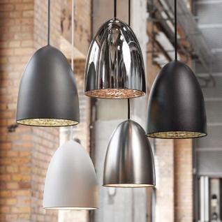 Licht-Trend MiraMira / LED Pendelleuchte Ø 10cm / schwarz - Vorschau 3