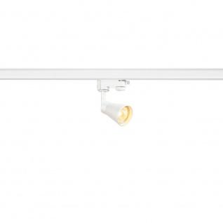 SLV Mini Q-Tech Strahler inkl. 3P.-Adapter Weiß 152641
