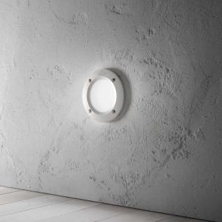 Ideal Lux Einbaustrahler Leti Fi1 Rund Weiß