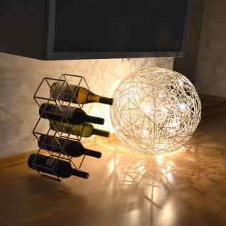 s.HOME Rak Design Weinregal Alu-Matt Flaschenregal Weinhalter Wine Rack - Vorschau 2