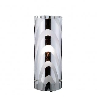 Wofi Collage Tischleuchte Nickel matt Tischlampe