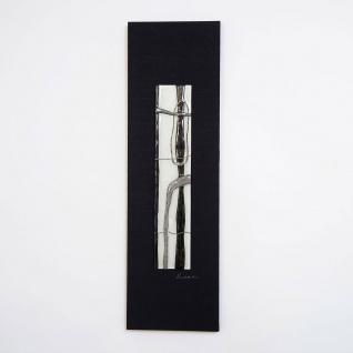 Holländer 306 3169 Wandbild Radiografa Holz-Leinwand-Glas Schwarz-Silber-Grau