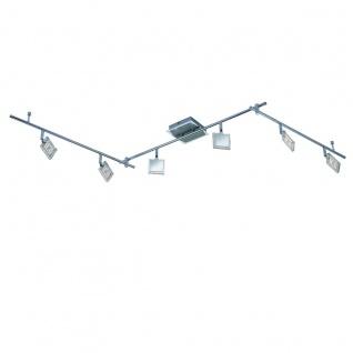 Paul Neuhaus 6966-17 LED-Deckenleuchte Daan / 6er Spot / Balkenspot / 6x4W / Chrom - Vorschau 1