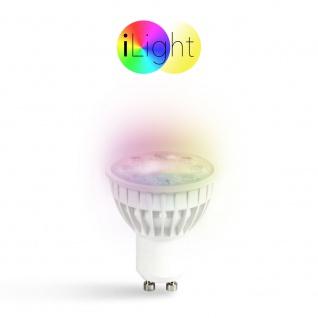 s.LUCE iLight GU10 LED Spot 4 W RGB + CCT LED-Lampe Farbwechsel & Dual White