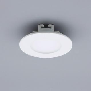 Licht-Design 30781 Einbau LED-Panel 200lm Dimmbar Ø 9cm Neutral Weiss