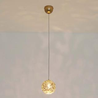 Holländer 300 K 1449 KOM Pendelleuchte Cappuccino Eisen Gold