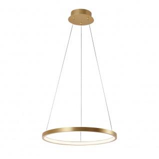 LeuchtenDirekt LED Ring-Pendelleuchte Circle Ø 39cm