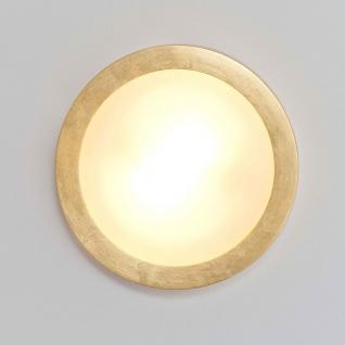 Holländer 085 1601 Deckenleuchte 2-flammig Spettacolo Keramik Gold - Vorschau 3