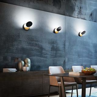 Fabas Luce LED Wandleuchte Ara 720+360lm Schwarz