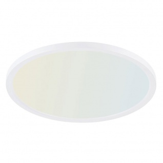 Q-Flat Ø60cm LED Deckenleuchte 2700 - 5000K Weiß