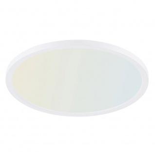 Q-Flat Ø60cm LED Deckenleuchte 2700 - 5000K Weiss - Vorschau 1