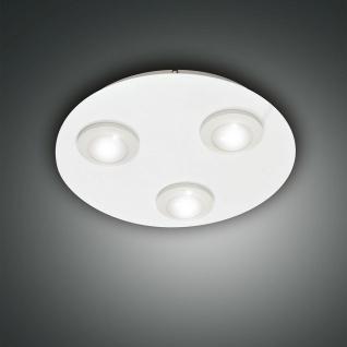 Fabas Luce 3270-61-102 Swan LED Deckenleuchte Ø 40cm 2100lm Weiß