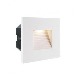 Abdeckung Eckig Weiß für LED-Einbauleuchte Steps Outdoor