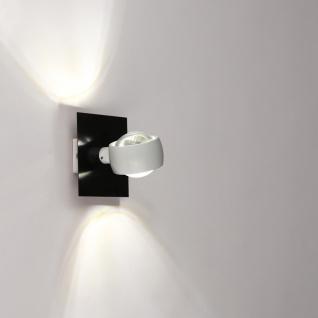 s.LUCE Dekoplatte Schwarz passend zu Beam 12 x 12cm Zubehör Innen - Vorschau 3