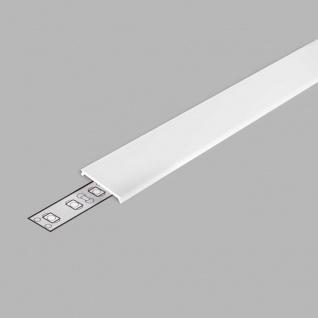 2 Meter Profil Abdeckung Opal Serie ECO
