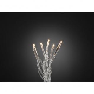 Micro LED Lichterkette 20 Warmweiße Dioden 24V Innentrafo
