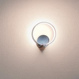 Eglo 95768 Lasana LED Wandleuchte 510lm Chrom Weiß