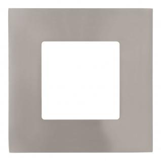 Eglo 95466 Fueva 1 LED Einbaustrahler 8, 5 x 8, 5cm 360lm Nickel-Matt
