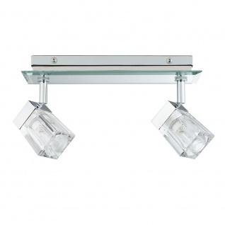 Paulmann WallCeiling Trabani IP44 2x20W G9 Chrom/Transparent 230V Metall/Glas