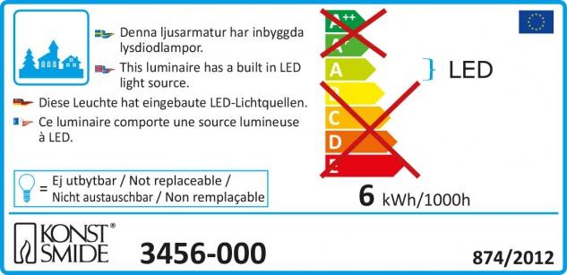 LED Szenerie Sessellift mit Animation bunte Dioden 12V Innentrafo - Vorschau 5