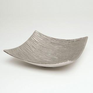 Holländer 207 3547 Dekoschale Atrio Aluminium Silber